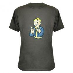 Камуфляжная футболка Fallout 4 Boy - FatLine