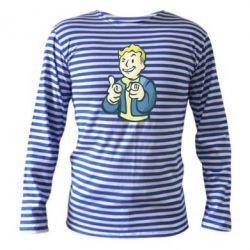 Тельняшка с длинным рукавом Fallout 4 Boy - FatLine