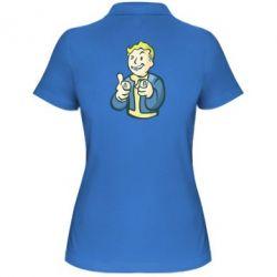 Женская футболка поло Fallout 4 Boy - FatLine