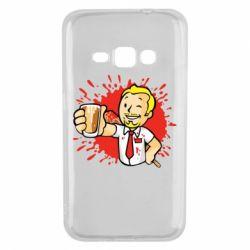 Чохол для Samsung J1 2016 Fallout  boy blood