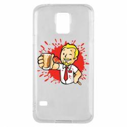 Чохол для Samsung S5 Fallout  boy blood