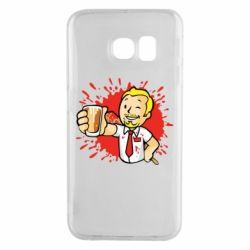 Чохол для Samsung S6 EDGE Fallout  boy blood