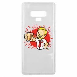 Чохол для Samsung Note 9 Fallout  boy blood