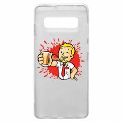 Чохол для Samsung S10+ Fallout  boy blood