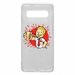 Чохол для Samsung S10 Fallout  boy blood