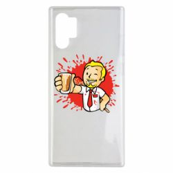 Чохол для Samsung Note 10 Plus Fallout  boy blood