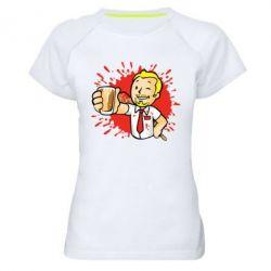 Жіноча спортивна футболка Fallout  boy blood