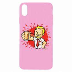 Чохол для iPhone X/Xs Fallout  boy blood