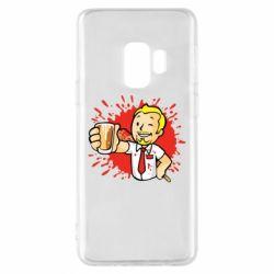 Чохол для Samsung S9 Fallout  boy blood