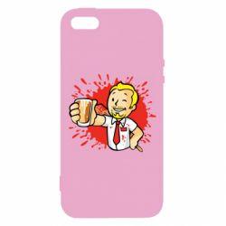 Чохол для iphone 5/5S/SE Fallout  boy blood