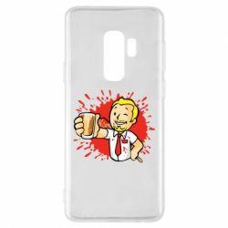 Чохол для Samsung S9+ Fallout  boy blood