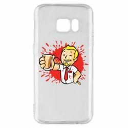 Чохол для Samsung S7 Fallout  boy blood
