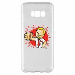 Чохол для Samsung S8+ Fallout  boy blood