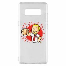 Чохол для Samsung Note 8 Fallout  boy blood