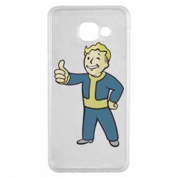 Чехол для Samsung A3 2016 Fallout Boy
