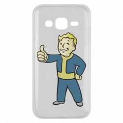 Чехол для Samsung J2 2015 Fallout Boy