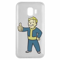 Чехол для Samsung J2 2018 Fallout Boy