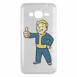 Чехол для Samsung J3 2016 Fallout Boy