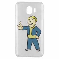 Чехол для Samsung J4 Fallout Boy