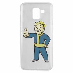 Чехол для Samsung J6 Fallout Boy