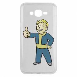 Чехол для Samsung J7 2015 Fallout Boy
