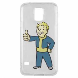 Чехол для Samsung S5 Fallout Boy