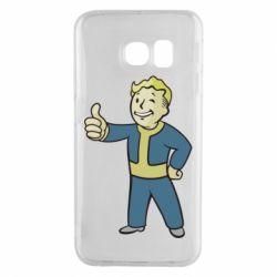 Чехол для Samsung S6 EDGE Fallout Boy