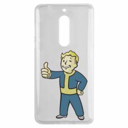 Чехол для Nokia 5 Fallout Boy - FatLine