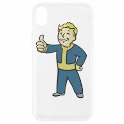 Чехол для iPhone XR Fallout Boy