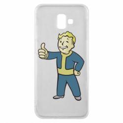 Чехол для Samsung J6 Plus 2018 Fallout Boy