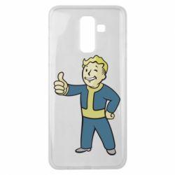 Чехол для Samsung J8 2018 Fallout Boy