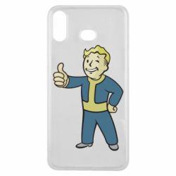 Чехол для Samsung A6s Fallout Boy