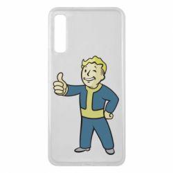 Чехол для Samsung A7 2018 Fallout Boy