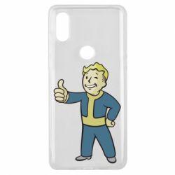 Чехол для Xiaomi Mi Mix 3 Fallout Boy
