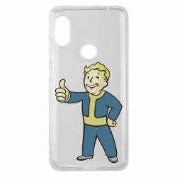 Чехол для Xiaomi Redmi Note 6 Pro Fallout Boy