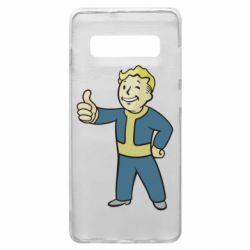 Чехол для Samsung S10+ Fallout Boy