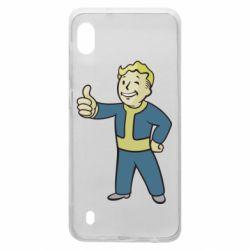 Чехол для Samsung A10 Fallout Boy