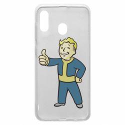 Чехол для Samsung A20 Fallout Boy
