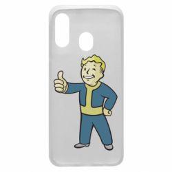 Чехол для Samsung A40 Fallout Boy