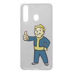 Чехол для Samsung A60 Fallout Boy