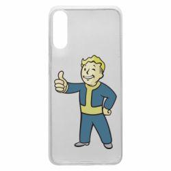 Чехол для Samsung A70 Fallout Boy