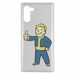 Чехол для Samsung Note 10 Fallout Boy