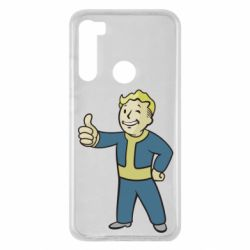 Чехол для Xiaomi Redmi Note 8 Fallout Boy