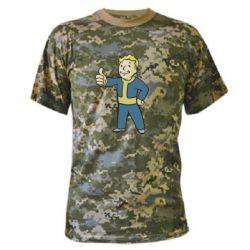 Камуфляжная футболка Fallout Boy - FatLine