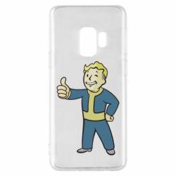 Чехол для Samsung S9 Fallout Boy