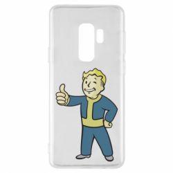 Чехол для Samsung S9+ Fallout Boy