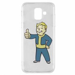 Чехол для Samsung A6 2018 Fallout Boy
