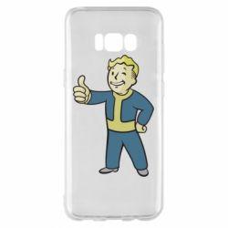 Чехол для Samsung S8+ Fallout Boy