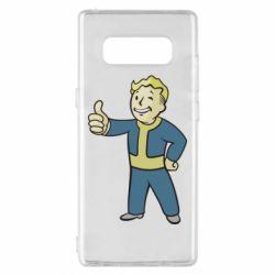 Чехол для Samsung Note 8 Fallout Boy