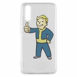 Чехол для Huawei P20 Fallout Boy - FatLine